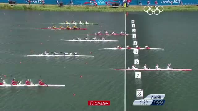 Canoe Sprint Men's K1, C1, K2 (1000m), Women's K4 (500m) - London 2012 Olympic Games Highlights