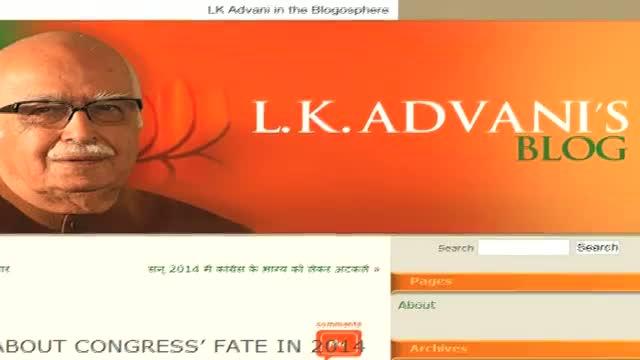 LK Advani's blog demoralising Bal Thackeray