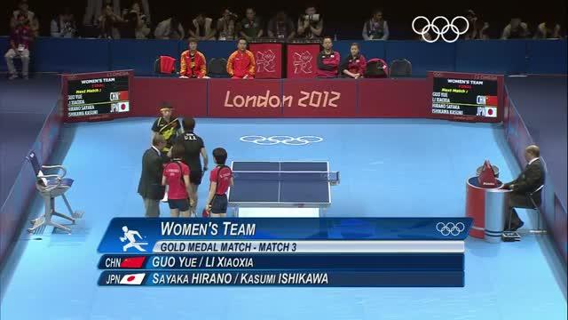 Table Tennis Women's Team Final - China v Japan - London 2012 Olympic Games Highlights