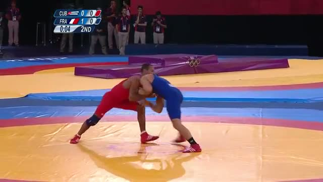 Wrestling Men's GR 66 kg Bronze Finals - Cuba v France Full Replay - London 2012 Olympic Games