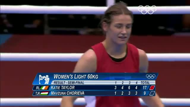 Boxing Women's Light (60kg) Semifinals - London 2012 Olympic Games Highlights