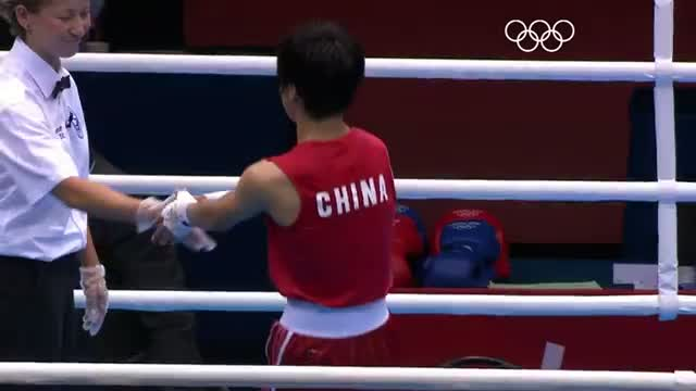 Boxing Women's Fly (51kg) Semifinals - London 2012 Olympic Games Highlights
