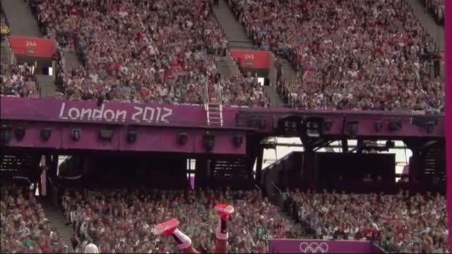 Athletics Men's Pole Vault - L Borges (CUB) Snaps Pole - London 2012 Olympic Games Highlights