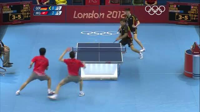 Table Tennis Men's Team Finals - Germany v Hong Kong, CHN - London 2012 Olympic Games Highlights