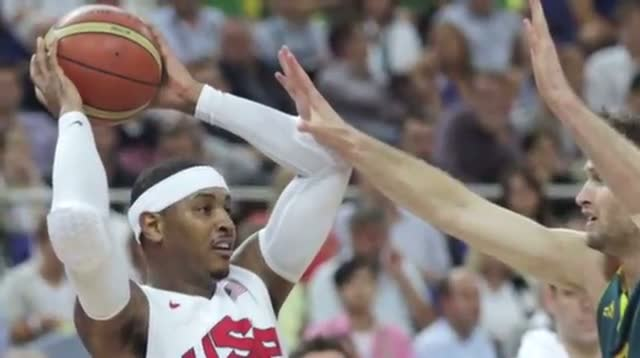 US Overwhelms Australia 119-86 in Olympic Hoops