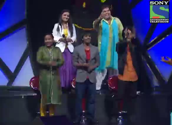 INDIAN IDOL SEASON 6 - EPISODE 21 - SPECIAL MOMENTS - SALLU ENTRY - 10TH AUGUST 2012