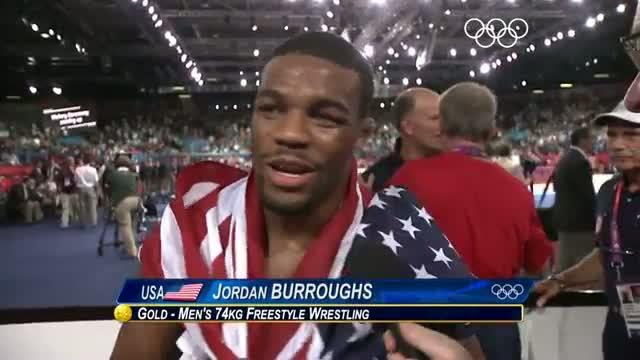 Wrestling Men's Freestyle 74 kg Final - Goudarzi v Burroughs - London 2012 Olympic Games Highlights