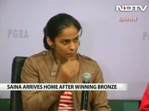 OLYMPICS BRONZE MEDALIST SAINA NEHWAL INTERVIEW