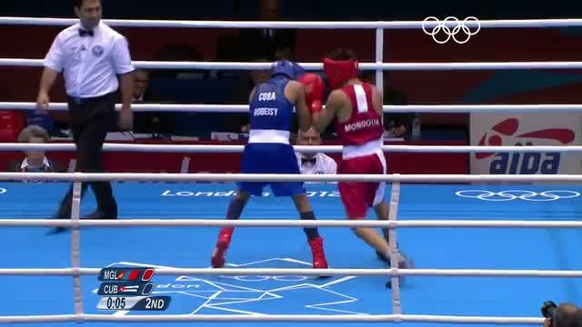 Boxing Men's Fly (52kg) Finals Bout - Nyambayar v Carrazana - London 2012 Olympic Games Highlights
