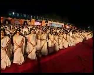 One lakh people sing Vande Mataram
