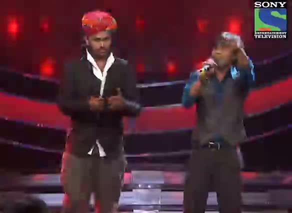 INDIAN IDOL SEASON 6 - EPISODE 24 - BEST PERFORMANCES - SWAROOP KHAN AND AMIT KUMAR SINGS 'TASHAN MEIN' - 18TH AUGUST 2012