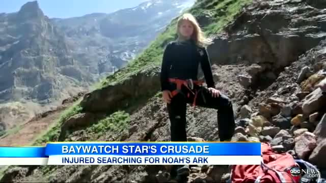 'Baywatch' Star's Noah's Ark Search: Donna D'Errico Risks Life on Turkey's Mount Ararat
