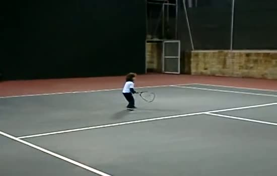 4-year-old Tennis Player The Next Big Tennis Star