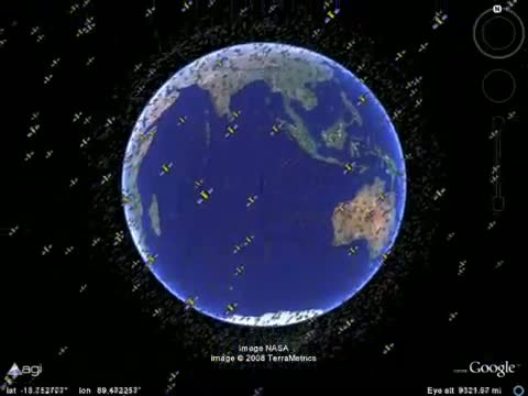 How many satellites are currently in orbit