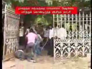 MUSLIM STUDENTS BEATEN BY HINDU STUDENTS