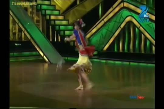 DID Dance ke Super Kids 26th August 2012 - Vaishnavi