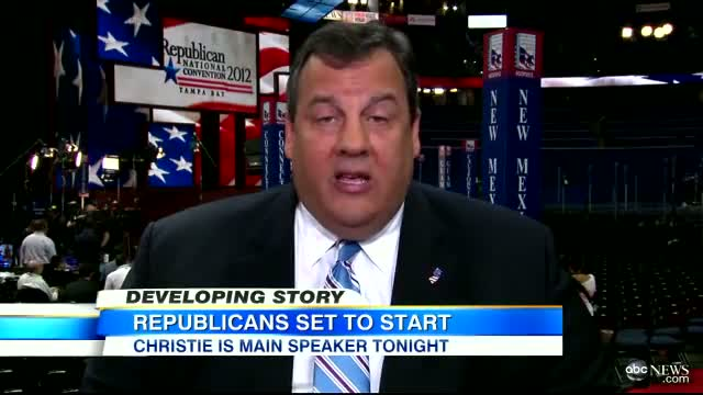 Gov. Chris Christie Interview - 'Mitt Romney's Going to Have to Win This Campaign'