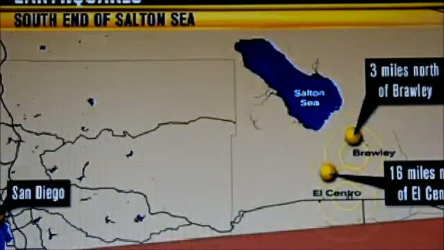 101 2.5 magnitude plus Earthquakes rattle Southern California 8/30/12