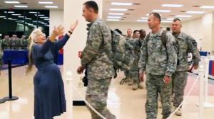The 'Hug Lady' Hugs Every US Soldier