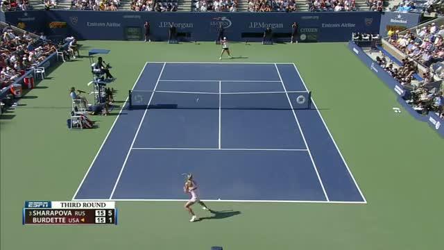 Maria Sharapova Wins Easily: US Open 2012