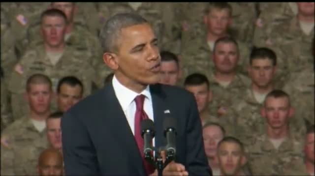 Obama Vows Help to Soldiers, Marks Iraq War End