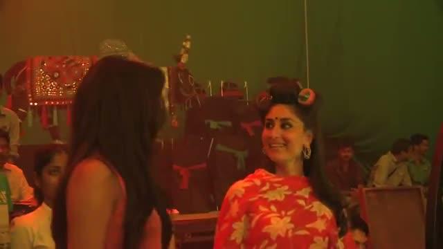 Heroine: Priyanka Chopra on the sets of Heroine - Kareena Kapoor