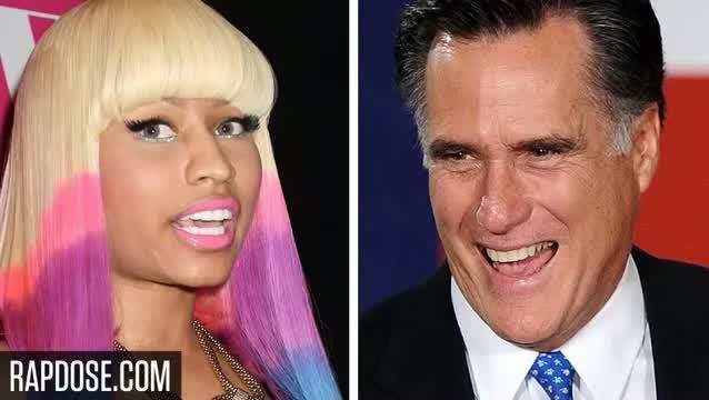 Nicki Minaj is a Republican, Endorses Mitt Romney