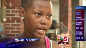 Police Tase 12 Year Old Girl In Victoria Secret