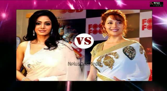 Star War - Sridevi And Madhuri Dixit