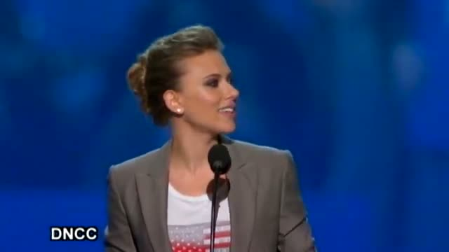 Scarlett Johansson DNC Speech_ Vote for Obama