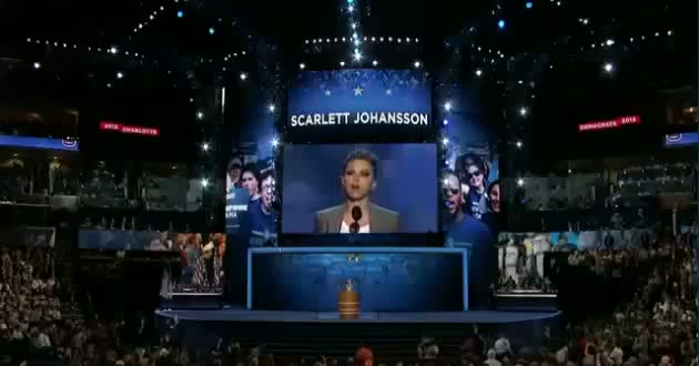 Scarlett Johansson DNC Speech Transcript Text for Democratic National Convention 2012