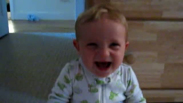 Funny Laughing Baby Boy!!