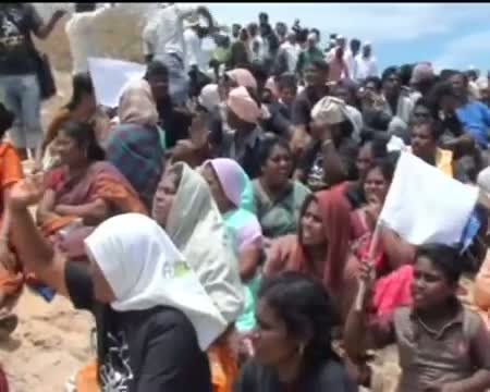 Huge protest near Kudankulam plant, section 144 imposed