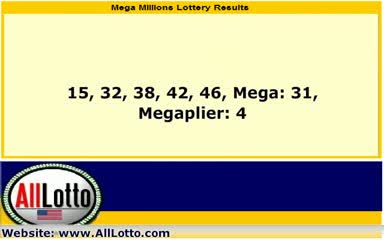Mega Millions Lottery Drawing Results Sep 7, 2012