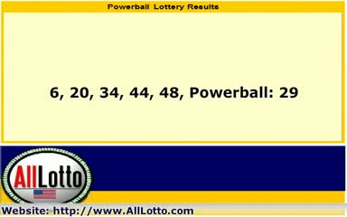 Powerball Lottery Drawing Results for Sep 8, 2012