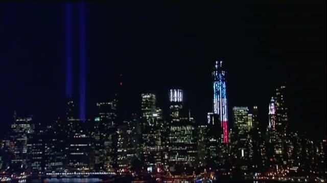 Raw Video - New York's Tribute in Light
