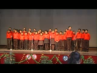 St. Xavier Delhi - Music Fest 2012 - English Group Song - Don't Stop, Never Give Up - Junior Students