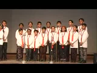 St. Xavier Delhi - Music Fest 2012 - English Group Song - I'm Proud Of You - Junior Students