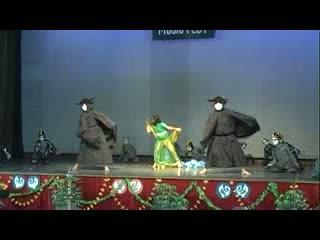St. Xavier Delhi - Music Fest 2012 - Theme Dance On Environment - Semi Classical Form - Ik Tu Hi Tu - Junior Students