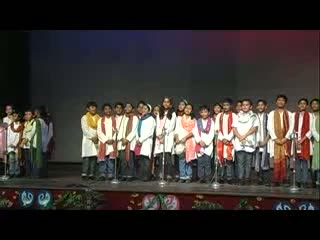 St. Xavier Delhi - Music Fest 2012 - Hindi Group Song - Tu Na Jaane Aas Paas Hai Khuda - Junior Students