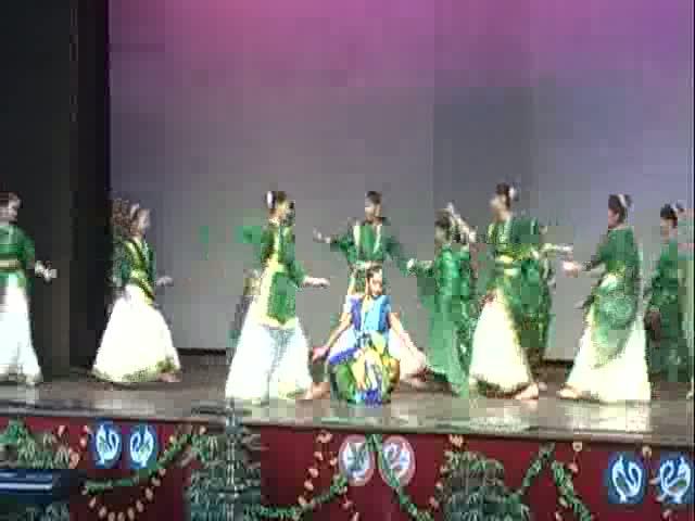 St. Xavier Delhi - Music Fest 2012 - Theme Dance On Environment - Semi Classical Form - Various Songs - Junior Students