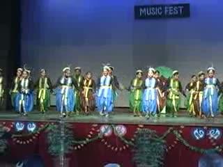 St. Xavier Delhi - Music Fest 2012 - Theme Dance On Environment - Semi Classical Form - Various Musics - Junior Students