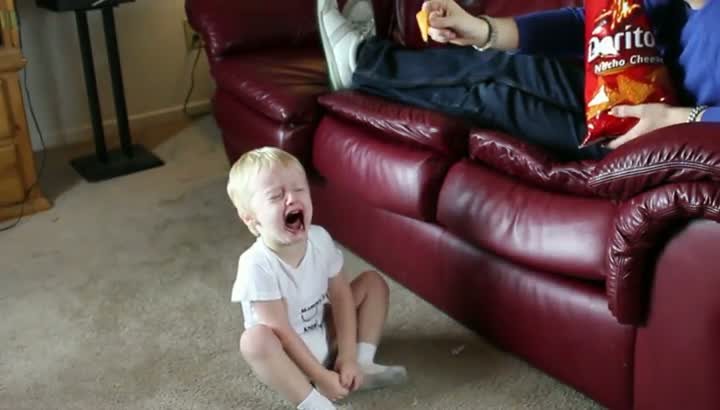 Make a Toddlers Cry with Doritos