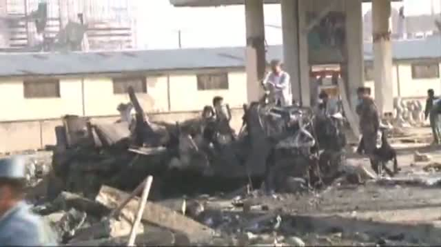 Raw Video - Afghan Insurgents Claim Suicide Bomb