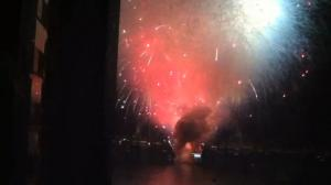 15 Minutes of Fireworks Go Up In 15 Seconds