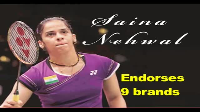 Saina Nehwal signed up Rs 40 crore endorsement deal