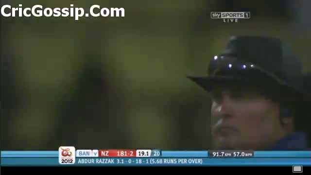 Brendon McCullum 123 Off 58 Balls Vs Bangladesh 2012 - ICC T20 World Cup 2012 Match 5