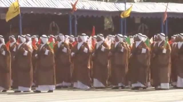 Raw Video - Iran Military Parade Shows New Might