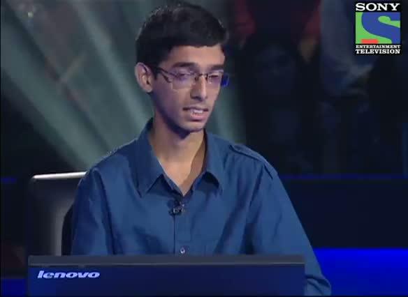 KBC 2012 - Season 6 - Episode 8 - AB Special - Syed Mustafa Hashmi recites 'Kabhi kabhi mere dil mein khayal aata hai' - 22nd Sept 2012