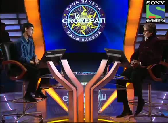KBC 2012 - Season 6 - Episode 8 - AB Special - Hilarious moment between Amitabh Bachchan and Syed Mustafa Hashmi - 22nd Sept 2012